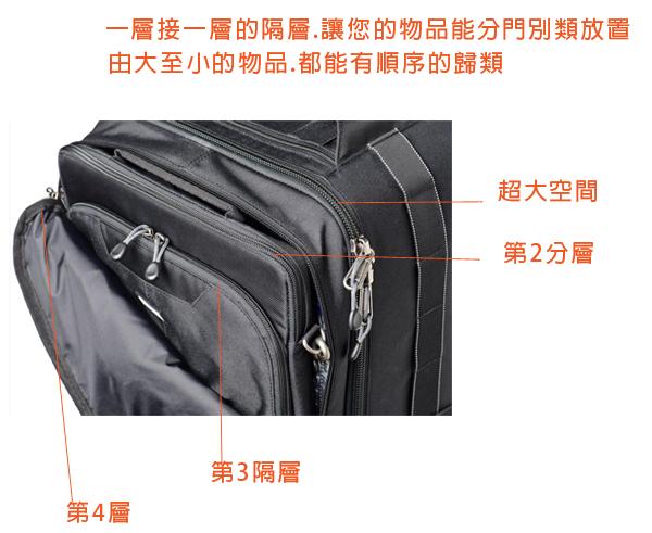 所有背包都依照国际航空行李箱尺寸规定设计